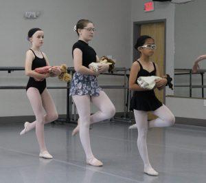 Online Intermediate Ballet Class