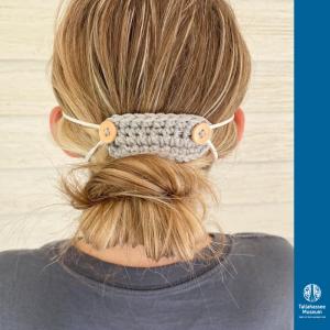 Crochet Face Mask Ear Protector Tutorial