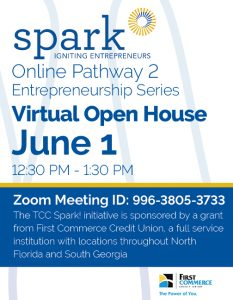 TCC Spark! Virtual Open House
