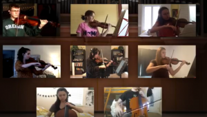 Mendelssohn String Octet, Op. 20 - Virtual Ensemble