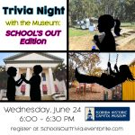 Trivia Night with the Museum: School's Out Edition