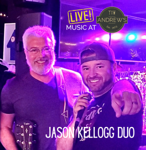 Live Music on the Patio @ Andrew's Downtown: Jason Kellogg Duo