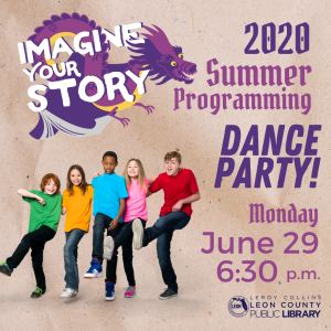 Dance Party - Leon County Library Virtual Summer Programming