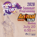 Animal Tales' Animal Show - Leon County Library Virtual Summer Programming