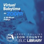 Virtual Baby Time at the Leon County Public Library