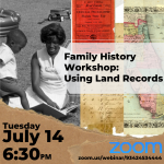 Family History Workshop: Using Land Records