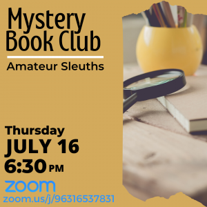 Mystery Book Club - Amateur Sleuths