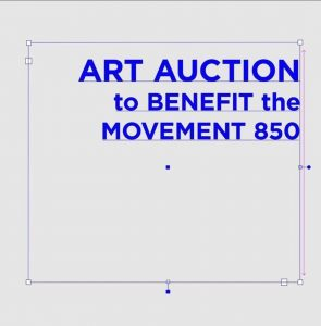 Art Auction to benefit The Movement 850