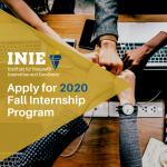 2020 Fall Internship Program