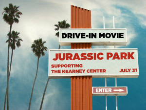 "Drive-In Movie ""Jurassic Park"""