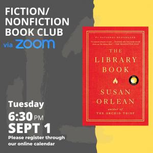 Virtual Fiction/NonFiction Book Club