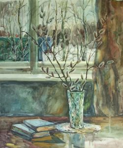 Online Watercolor 4-Day Class with Natalia Andreev...