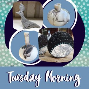 Tuesday Morning Creating with Clay