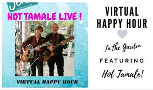 Facebook Live Virtual Happy Hour in the Garden!