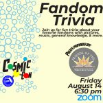 Leon County Library CosmicCon: Fandom Trivia