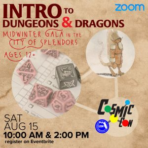 Leon County Library CosmicCon: Intro to Dungeons &...