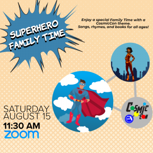 Leon County Library CosmicCon: Superhero Family Ti...