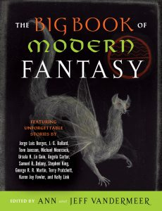 "Ann and Jeff VanderMeer with ""The Big Book of Modern Fantasy"""