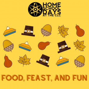 Home School Days - Food, Feast and Fun (Virtual)