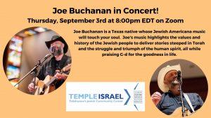 Joe Buchanan in Concert!