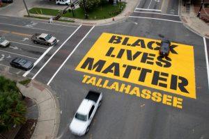 Black Lives Matter Street Mural