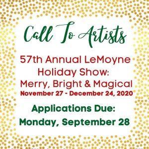 Call for Artists - LeMoyne Holiday Show
