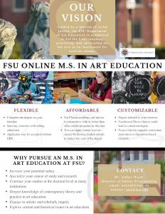 FSU Online MS in Art Education