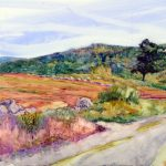 Plein Air workshop with Carol L. Douglas at the Natalia Andreeva Studio