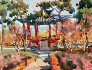 4-Day Online Watercolor Class with Natalia Andreeva