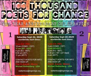 100 Thousand Poets for Change celebrates 10 Years ...