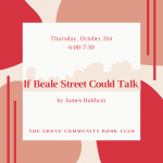 Community Book Club: If Beale Street Could Talk