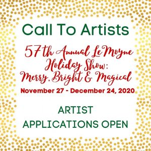 Call for Artists- LeMoyne Holiday Show