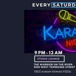 Karaoke Saturday Night's with @Dj Rah