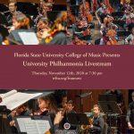 University Philharmonia Livestream Concert