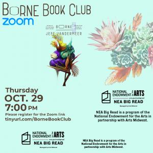 """Virtual """"Borne"""" Book Discussion"""