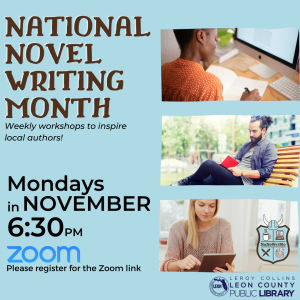 National Novel Writing Month Virtual Events