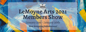 LeMoyne Arts 2021 Members Show Call to Artists