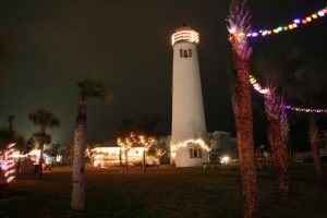 St. George Island Lighting of the Palms