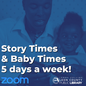 Virtual Story Time with the Leon County Public Library