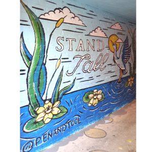 Gallie Alley Murals