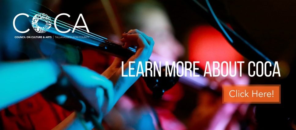 COCA is your local arts agency!