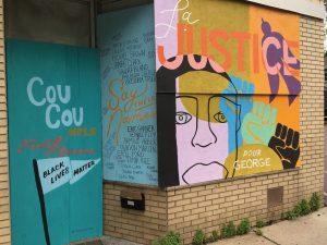 George Floyd & Anti-Racist Street Art