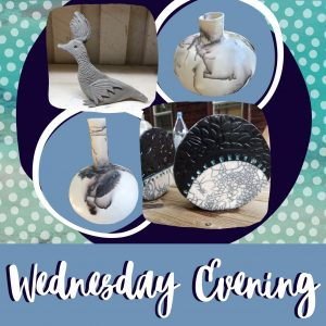 Wednesday Evening Creating with Clay!