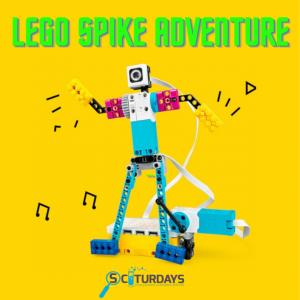 Sciturdays - LEGO Spike Adventure