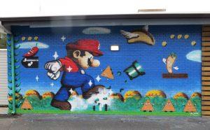 Super Mario Mural