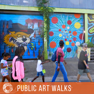 Gaines Street Public Art Walk
