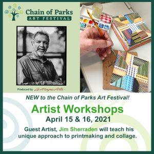 Virtual Chain of Parks Artist Workshops