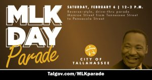 MLK Day Parade (re-scheduled to Feb. 6)