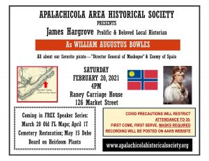 Apalachicola Area Historical Society Speaker Serie...