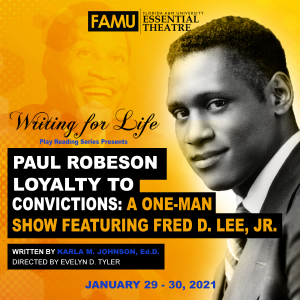 Paul Robeson Loyalty to Convictions: A One-Man Sho...